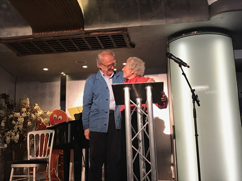 David Wood and Judith Kerr
